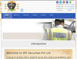 spfsecuritas.com screenshot