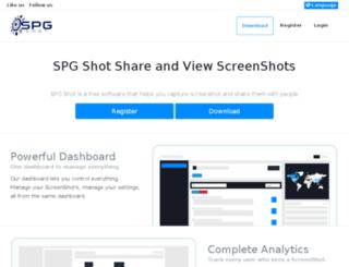 spgshot.com screenshot