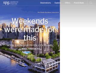 spgweekends.com screenshot