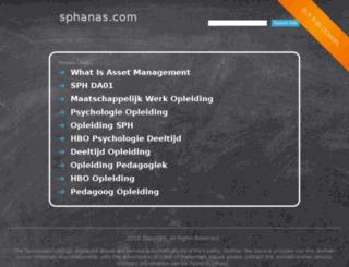 sphanas.com screenshot