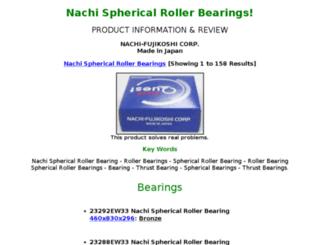 spherical-rollerbearings.com screenshot