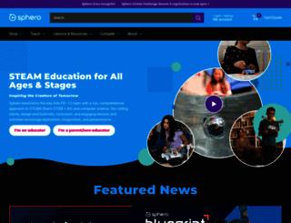 sphero.com screenshot