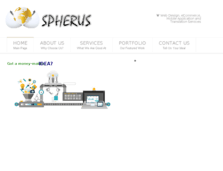 spherusconsulting.com screenshot