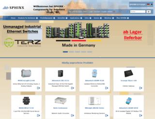 sphinxcomputer.de screenshot