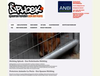 sphoek.com screenshot