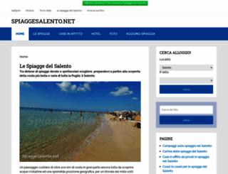 spiaggesalento.net screenshot