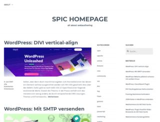 spic.wordpress.com screenshot