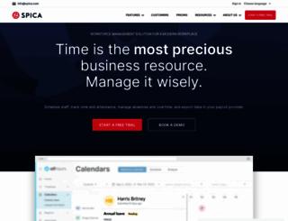 spica.com screenshot