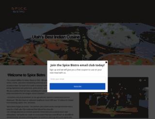spicebistroutah.com screenshot