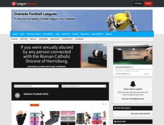 spicefootball.leaguerepublic.com screenshot