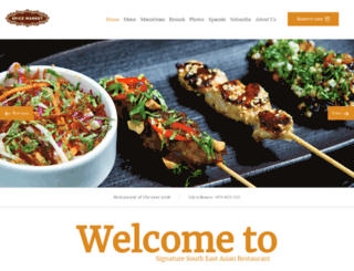 spicemarketdoha.com screenshot