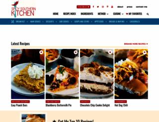 spicysouthernkitchen.com screenshot