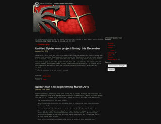 spider-man-4.moviechronicles.com screenshot