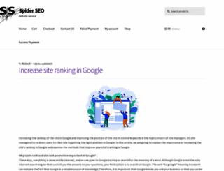 spider-seo.com screenshot