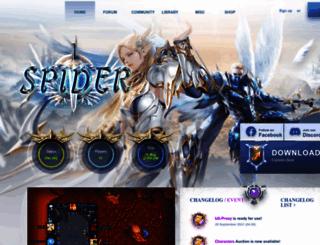 spider-server.com screenshot