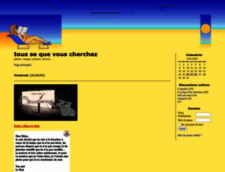 spiderbgirl.joueb.com screenshot