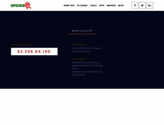 spiderip.com screenshot