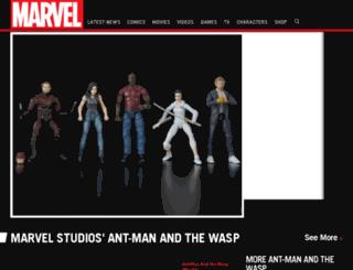 spiderman.com screenshot