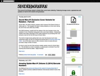 spidermanfan.com screenshot