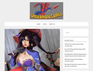 spidermangamez.com screenshot