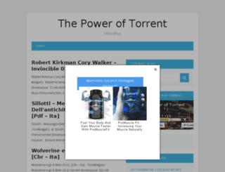 spidernetfreetorrent.altervista.org screenshot