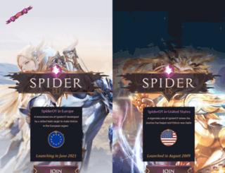 spiderserver.no-ip.org screenshot