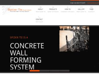 spidertie.com.au screenshot