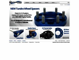spidertrax.com screenshot