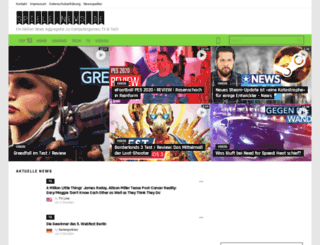 spiele-news.de screenshot