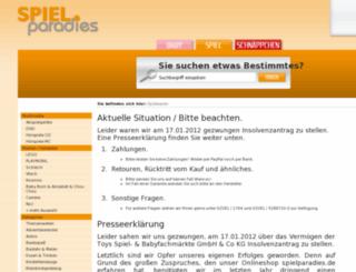 spielparadies.de screenshot