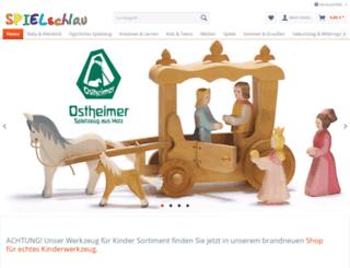 spielschlau-holzspielzeug.de screenshot