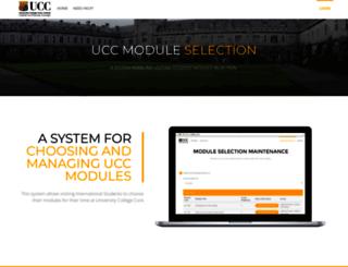spike.ucc.ie screenshot