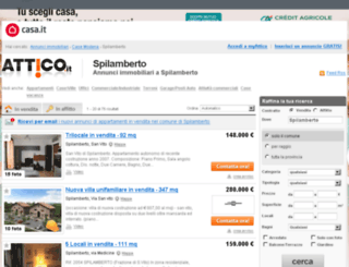 spilamberto.attico.it screenshot