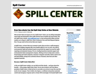 spillcenter.wordpress.com screenshot