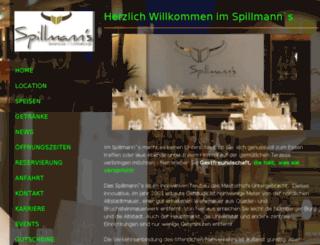 spillmanns.de screenshot