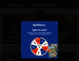 spilsbury.com screenshot