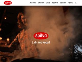 spilva.lv screenshot