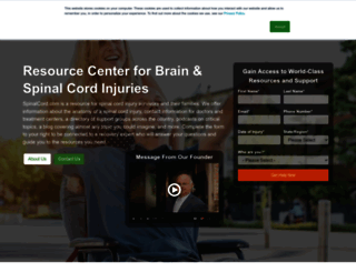 spinalcord.com screenshot