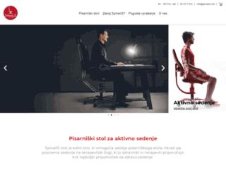 spinalis.net screenshot