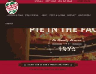 spinatospizza.com screenshot