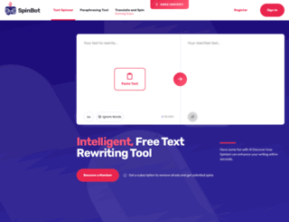 spinbot.com screenshot