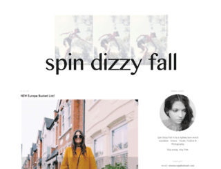 spindizzyfall.blogspot.com.au screenshot