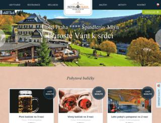 spindl-hotelpraha.cz screenshot