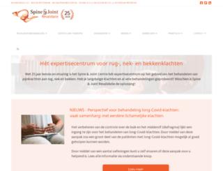 spineandjoint.nl screenshot