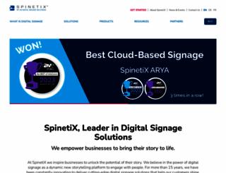 spinetix.com screenshot