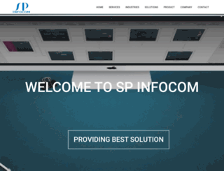 spinfocom.co.in screenshot