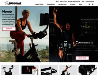 spinning.com screenshot
