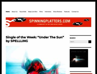 spinningplatters.com screenshot