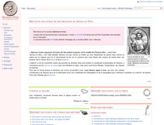 spinozaetnous.org screenshot