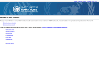 spinternet.ohchr.org screenshot